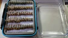 60 Mayfly B  Fly Box - Trout Wet Flies Fly Fishing Flies US Veteran Owned