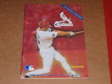 1998 SPRING TRAINING PROGRAM ST.LOUIS CARDINALS  MLB