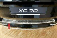 Ladekantenschutz für VOLVO XC90 ab 2015 Edelstahl Chrom V2A + Abkantung Leiste