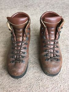 Scarpa Classic Italian Made Mens Leather Walking Boots UK Size 9.5 (EU 44)