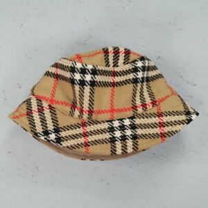 Burberry Bucket Hat Handmade from Reworked Nova Check Adult Size