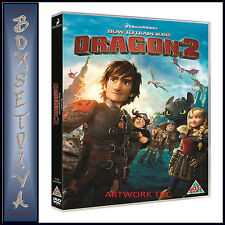 HOW TO TRAIN YOUR DRAGON 2 - DREAMWORKS  **BRAND NEW DVD**