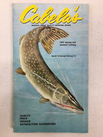 Cabelas 1973 Spring and Summer Catalog Sporting Goods Fishing Boating Hunting