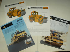 Lot 4 Catalogue CATERPILLAR Rouleau  brochure prospectus TP camion tractor