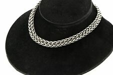 David Yurman 14k gold 925 sterling silver double chain necklace 103.57 grams