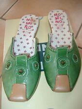 (Z86) 1001 Nacht MOMINO Girls Schuhe Sandalen Hausschuhe Leder mit Nieten gr.33