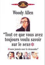 Woody Allen: Tout ce que vous avez toujours voulu savoir - DVD Neuf sous blister