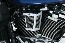 Kuryakyn 7297 Black Chrome Mesh Mach Horn Cover 95-19 Harley Dyna Touring XL FXR
