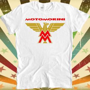 Moto Morini Motorcycle Biker Classic Race Logo Gift Unisex Retro T Shirt 2412