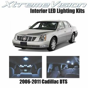 XtremeVision Interior LED for Cadillac DTS 2006-2011 (12 PCS) Cool White