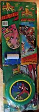 Power Rangers Kite Frisbee Marbles Outdoor Activity Set. Vintage 1994