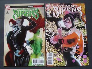 GOTHAM CITY SIRENS #4-5 Harley Quinn Catwoman
