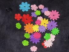 polyester wool blend Felt Flower pattern DIY Shape Felt ~ 50pcs
