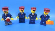 LEGO CITY (nr.27) FIGURINE / 4 CHEMIN DE FER figurines