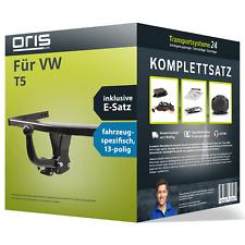 Anhängerkupplung ORIS starr für VW T5 +E-Satz (AHK und ES) Set NEU