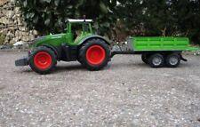 """RC Traktor FENDT 1050 mit KIPP-ANHÄNGER in 1:16 """"2,4 GHz TOP QUALITÄT"""" 1050/K"""