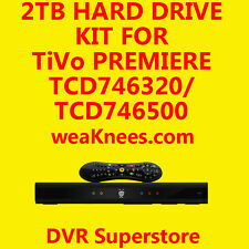 2TB TIVO HARD DRIVE UPGRADE/REPAIR KIT FOR TCD748000 SERIES4 PREMIERE - 6 MO WAR