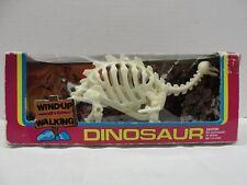 Vintage Wind-Up Walking Brontosaurus Dinosaur In Original Box & Working