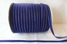 5m x 10mm Velvet Ribbon : 33 Royal Blue