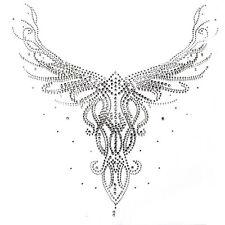 Rhinestone Hot fix Motif crystal Fashion Design pattern beautiful neck line