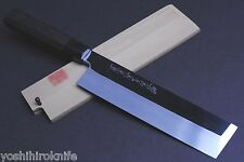 Honyaki Mirror-Finished Edo Usuba Japanese Vegetable chef knife 210mm,YOSHIHIRO