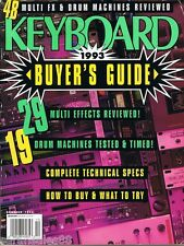 1992 Keyboard Buyers Guide: Drum Modules Multi FX Roland R-8 8M 70 TD-7 Magazine