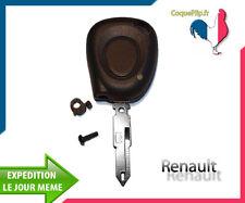 Coque Télécommande Plip Renault Laguna Safrane Espace + Cle Vierge.