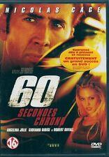DVD ZONE 2--60 SECONDES CHRONO--CAGE/JOLIE/RIBISI/DUVALL/SENA