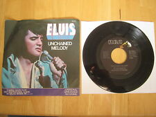 Elvis Presley 45rpm Record: Unchained Melody/Softly As I Leave You, 1978, RCA