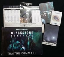 Traitor Command all Rules Tokens Cards Quest Blackstone Fortress Warhammer 40K