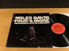 MILES DAVIS Four & More COLUMBIA  CS-9253 Stereo 2-EYE NM! 1B/1B