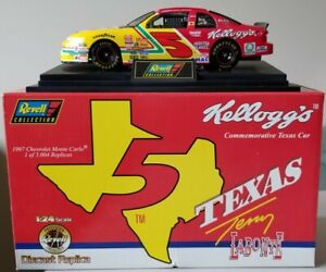 1997 TERRY LABONTE REVELL Kellogg's NASCAR DIECAST 1/24 Texas Commemorative Car