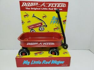 "Radio Flyer My Little Red Wagon Toy Model # 901 New In Box From 1998 6"" long"