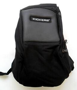 Kickers School College Sports Gym Body Bag Rucksack Black