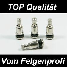 4x Metallventil Metallventile Stahlventil Ventile für Alufelgen 11,3mm VW