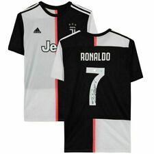 Fanáticos Auténtico Cristiano Ronaldo Firmado Autografiado 2019-20 Juventus Jersey