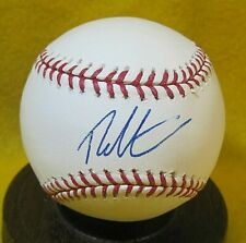 Theo Epstein Signed OML Baseball COA President Chicago Cubs, Boston Red Sox
