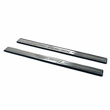 New Stainless Steel Door Sill Scuff Side Step Plate Set for 03-08 Tiburon Coupe