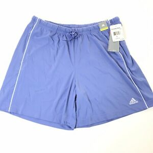 NWT Adidas Everyday Shorts Womens Relaxed Fit Size Large Purple