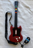 Red Octane Guitar Hero SG Controller w/ Strap (PSLGH) | PS2 | Tested & Cleaned