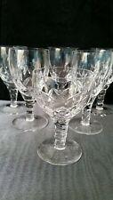Six Stuart Crystal Glasses Carlingford