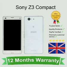 Unlocked Sony Xperia Z3 Compact D5803 Mobile Cellular Smart Phone 16GB White UK