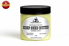 HEMP SEED BUTTER ORGANIC by H&B Oils Center EXPELLER PRESSED PURE 4 OZ