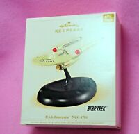 2006 Hallmark STAR TREK USS ENTERPRISE NCC-1701 Christmas Ornament NIB