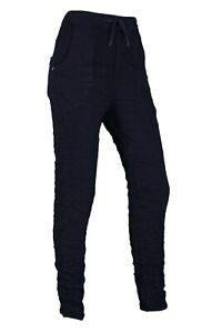 Karostar Jeggins Hose in Jogginghosen-Style Marine Blau S - 2XL