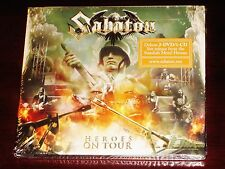 Sabaton: Heroes On Tour Deluxe Edition CD + 2 DVD 3 Disc Set 2016 NB 3622-7 NEW