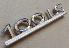 Genuine Audi 100LS Vintage Metal Tapa Posterior Arranque Insignia emblema logo