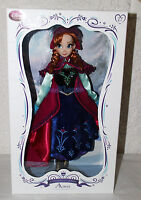 "NEW Disney Store Limited Edition Frozen Anna Snow Gear Outfit 17"" Doll"