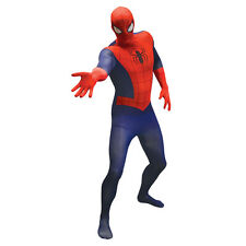 MARVEL COMICS Spider-Man Adult Unisex Basic Cosplay Costume Morphsuit, Large