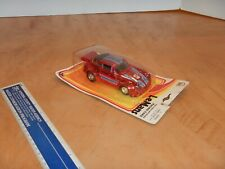 1995 ZYLMEX PORSCHE TURBO PULL BACK MOTORIZED RACING CAR, NOS
